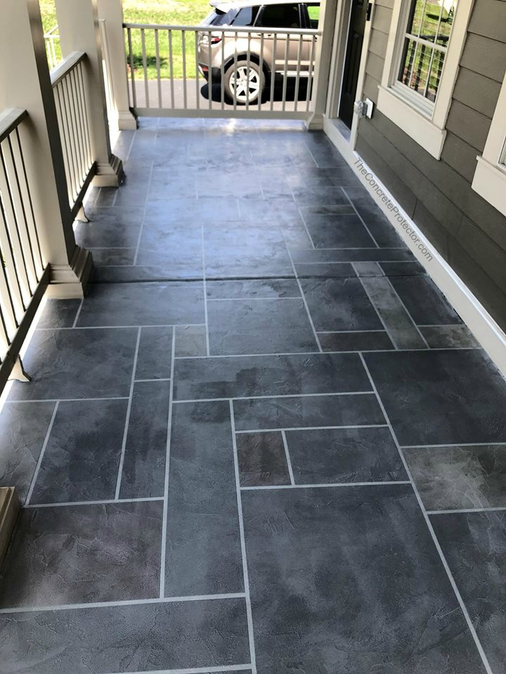 Slate Stained Concrete | Cincinnati Ohio