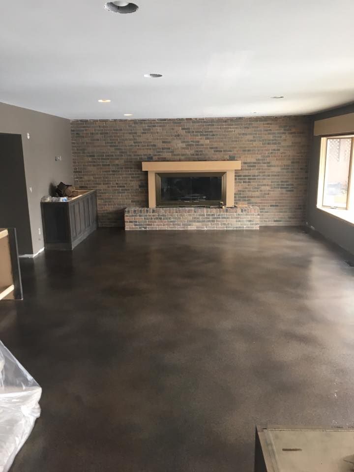 Stained Concrete | San Antonio Texas