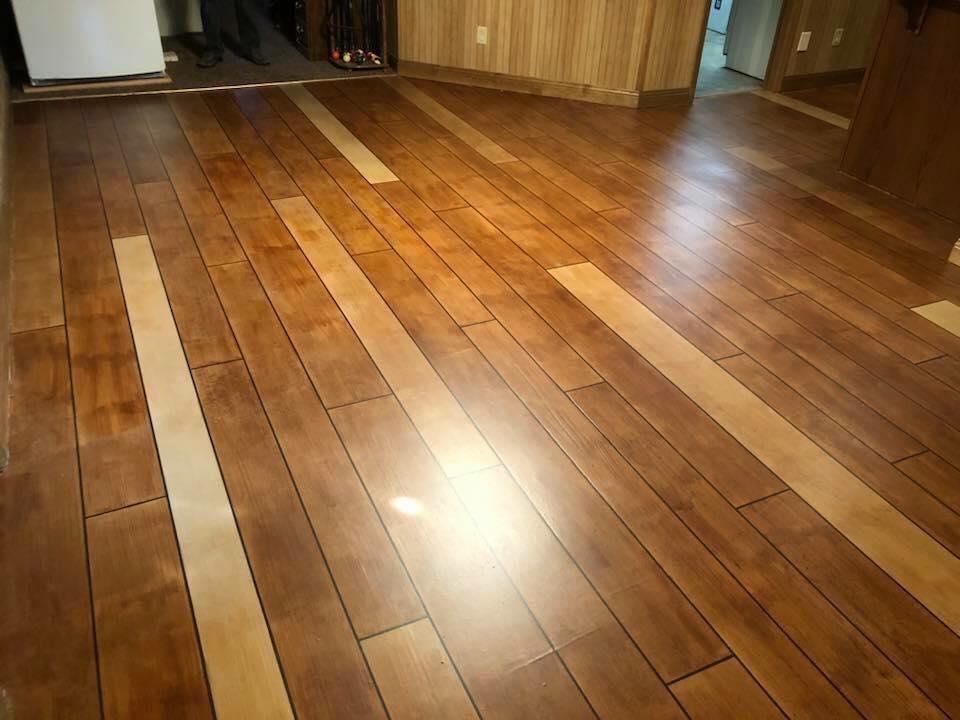 Concrete Wood Flooring | Cincinnati Ohio
